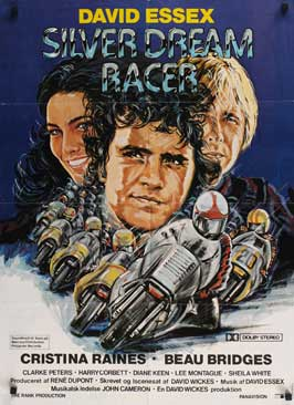 Silver Dream Racer - 27 x 40 Movie Poster - Danish Style A