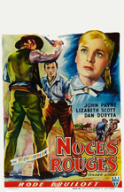 Silver Lode - 27 x 40 Movie Poster - Belgian Style A