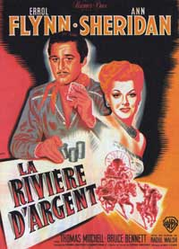 Silver River - 11 x 17 Movie Poster - French Style B