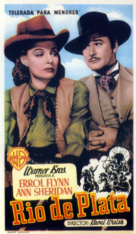 Silver River - 11 x 17 Movie Poster - Spanish Style A