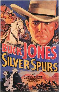 Silver Spurs - 43 x 62 Movie Poster - Bus Shelter Style A