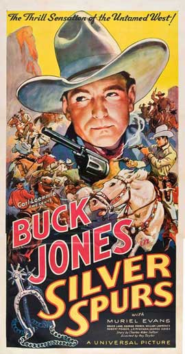 Silver Spurs - 20 x 40 Movie Poster - Style A