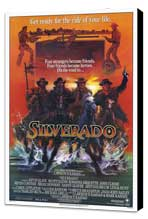 Silverado - 27 x 40 Movie Poster - Style A - Museum Wrapped Canvas