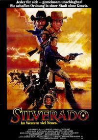 Silverado - 11 x 17 Movie Poster - German Style B