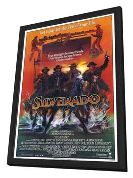 Silverado - 11 x 17 Movie Poster - Style A - in Deluxe Wood Frame