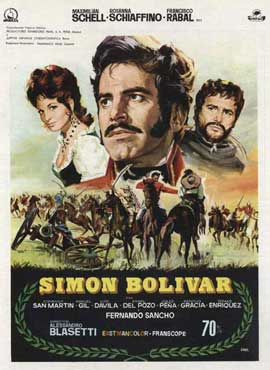 Simon Bolivar - 11 x 17 Movie Poster - Spanish Style A