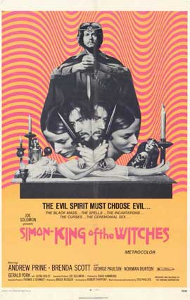 Simon, King of the Witches - 11 x 17 Movie Poster - Style A