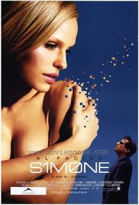 Simone - 27 x 40 Movie Poster - Style B