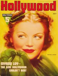 Simone Simon - 27 x 40 Movie Poster - Hollywood Magazine Cover 1930's Style A