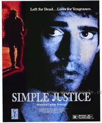 Simple Justice - 11 x 17 Movie Poster - Style A