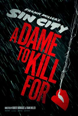 Sin City: A Dame to Kill For - 27 x 40 Movie Poster - Style A