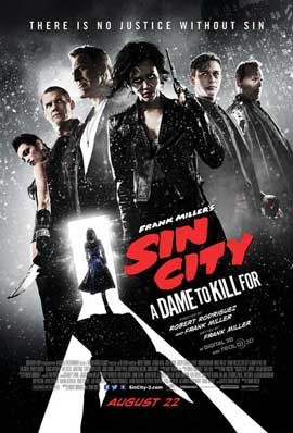 Sin City: A Dame to Kill For - 27 x 40 Movie Poster - Style B