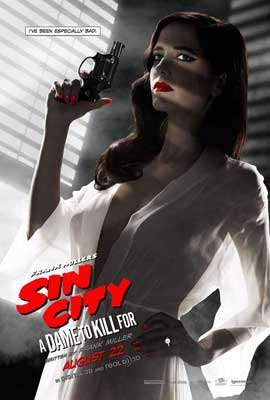 Sin City: A Dame to Kill For - 27 x 40 Movie Poster - Style C