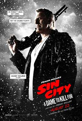 Sin City: A Dame to Kill For - 27 x 40 Movie Poster - Style D