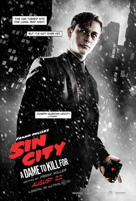 Sin City: A Dame to Kill For - 11 x 17 Movie Poster - Style E