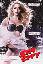 Sin City - 11 x 17 Movie Poster - Style N