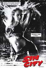 Sin City - 27 x 40 Movie Poster - Style D