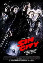 Sin City - 27 x 40 Movie Poster - Style F