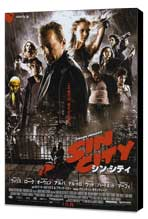 Sin City - 11 x 17 Movie Poster - Japanese Style G - Museum Wrapped Canvas