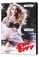 Sin City - 27 x 40 Movie Poster - Style A - Museum Wrapped Canvas
