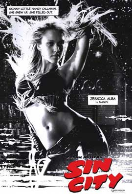 Sin City - 11 x 17 Movie Poster - Style E