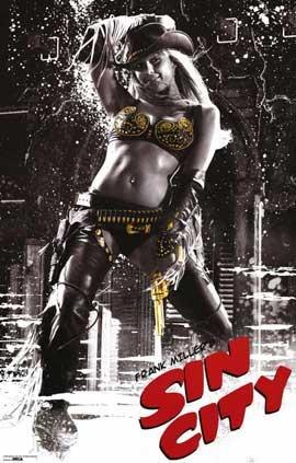 Sin City - 11 x 17 Movie Poster - Style K