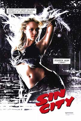 Sin City - 27 x 40 Movie Poster - Style E