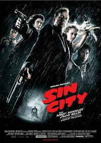 Sin City - 27 x 40 Movie Poster - German Style A