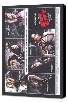 Sin City - 11 x 17 Movie Poster - Style O - Museum Wrapped Canvas