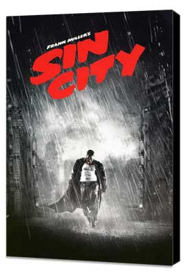 Sin City - 11 x 17 Movie Poster - Style V - Museum Wrapped Canvas