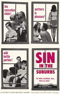 Sin in the Suburbs - 11 x 17 Movie Poster - Style A