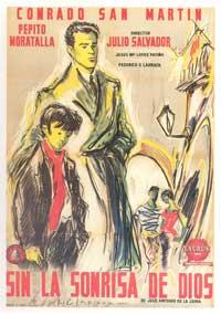 Sin la sonrisa de Dios - 27 x 40 Movie Poster - Spanish Style A