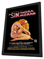 Sin of Nora Moran - 11 x 17 Movie Poster - Style A - in Deluxe Wood Frame