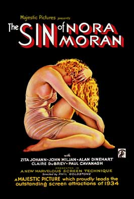 Sin of Nora Moran - 11 x 17 Movie Poster - Style A