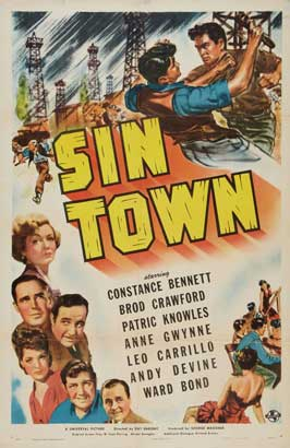 Sin Town - 11 x 17 Movie Poster - Style A