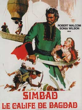 Sinbad and the Caliph of Baghdad - 11 x 17 Movie Poster - French Style A