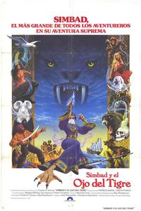 Sinbad and the Eye of the Tiger - 11 x 17 Movie Poster - Spanish Style A