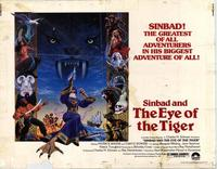 Sinbad and the Eye of the Tiger - 22 x 28 Movie Poster - Half Sheet Style A