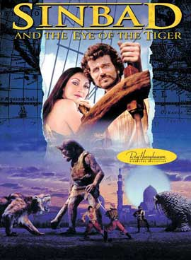 Sinbad and the Eye of the Tiger - 27 x 40 Movie Poster - Style B
