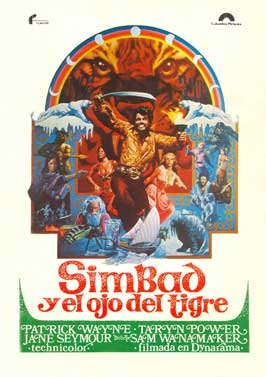 Sinbad and the Eye of the Tiger - 27 x 40 Movie Poster - Spanish Style A