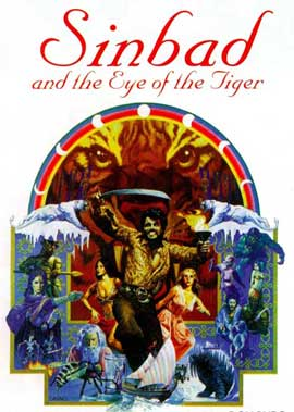 Sinbad and the Eye of the Tiger - 11 x 17 Movie Poster - UK Style A