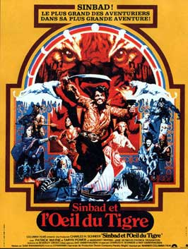 Sinbad and the Eye of the Tiger - 11 x 17 Movie Poster - French Style A