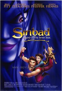 Sinbad: Legend of the Seven Seas - 27 x 40 Movie Poster - Style A