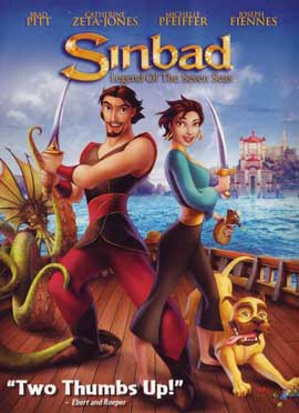 Sinbad: Legend of the Seven Seas - 11 x 17 Movie Poster - Style B