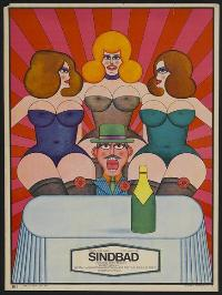 Sinbad - 11 x 17 Movie Poster - Polish Style A
