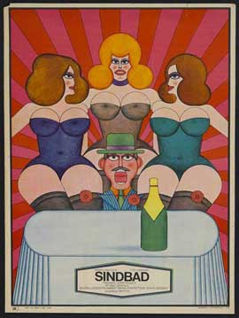 Sinbad - 27 x 40 Movie Poster - Polish Style A