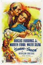 Sinbad, the Sailor - 27 x 40 Movie Poster - Style B