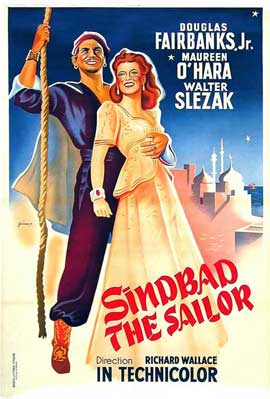 Sinbad, the Sailor - 11 x 17 Movie Poster - Style A
