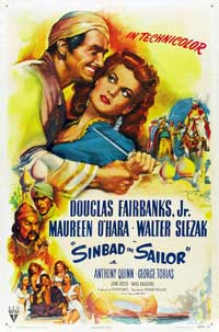 Sinbad, the Sailor - 43 x 62 Movie Poster - Bus Shelter Style B