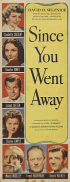 Since You Went Away - 14 x 36 Movie Poster - Insert Style A